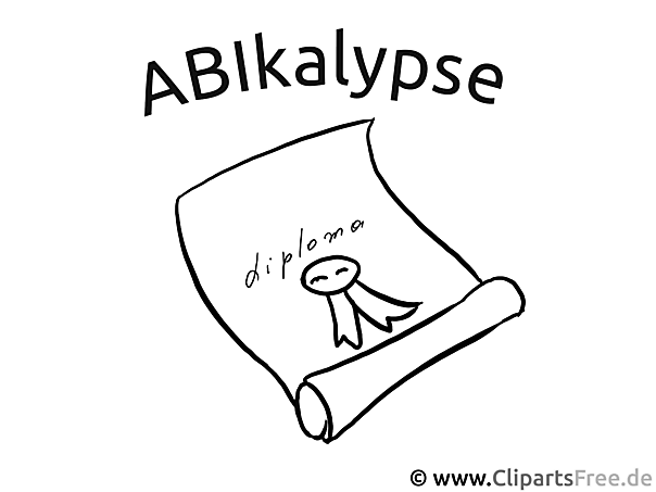 Abykalypse Plakat - Schule Malvorlagen