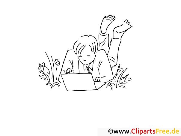 Arbeit im Freien Bilder online zum Drucken und Ausmalen