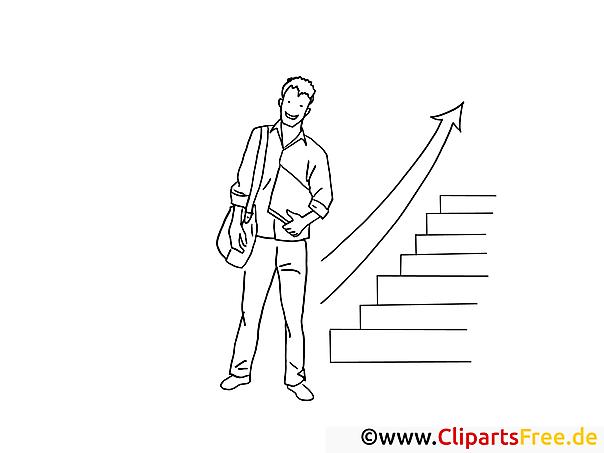 Aufstieg Schwarzweiss ClipartBilder zum Drucken und Ausmalen