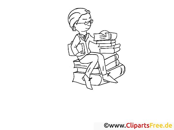 Bücher Bilder online zum Drucken und Ausmalen