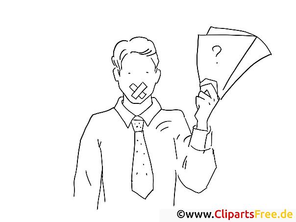 Schweigen Bild zum Druckern und Malen - Arbeit im Büro