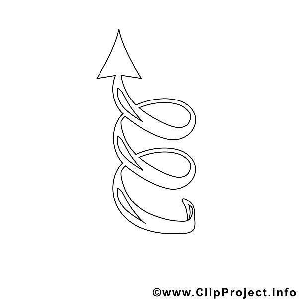 Spiral Bild zum Ausmalen, Malvorlage, Ausmalbild