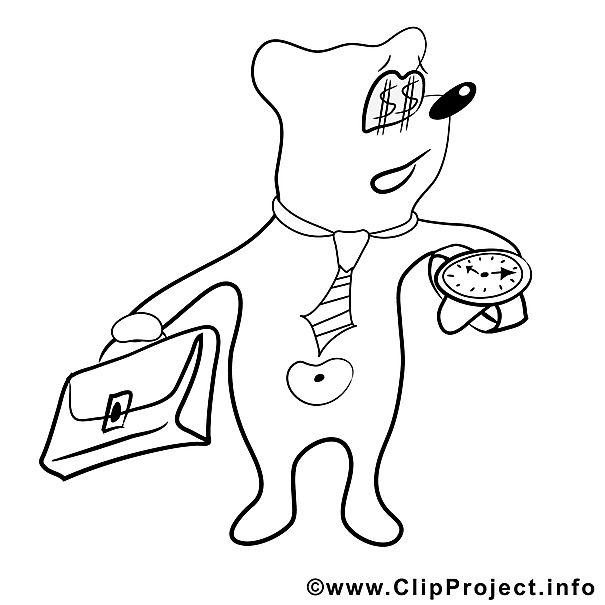 Teddy Bild zum Ausmalen, Malvorlage