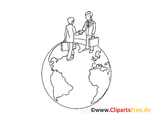 Traveling Worldwide Coloring Page Office Work