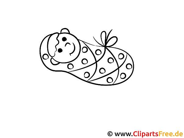 Ausdruck Bilder zum Ausmalen Baby