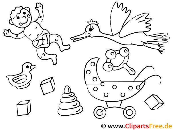 Bilder zum Ausdrucken zum Thema Baby