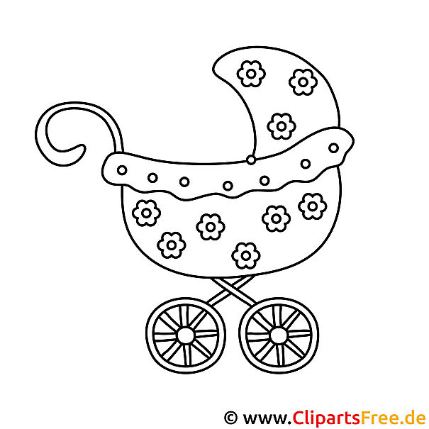 Puppenwagen Malvorlage Coloring And Malvorlagan