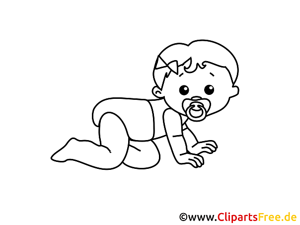 Babybilder Zum Ausmalen : zum ausmalen baby bild ~ Markanthonyermac.com Haus und Dekorationen