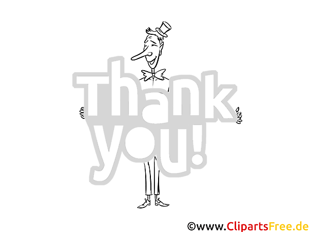Ausmalbild Mann Dankesbilder kostenlos ausmalen
