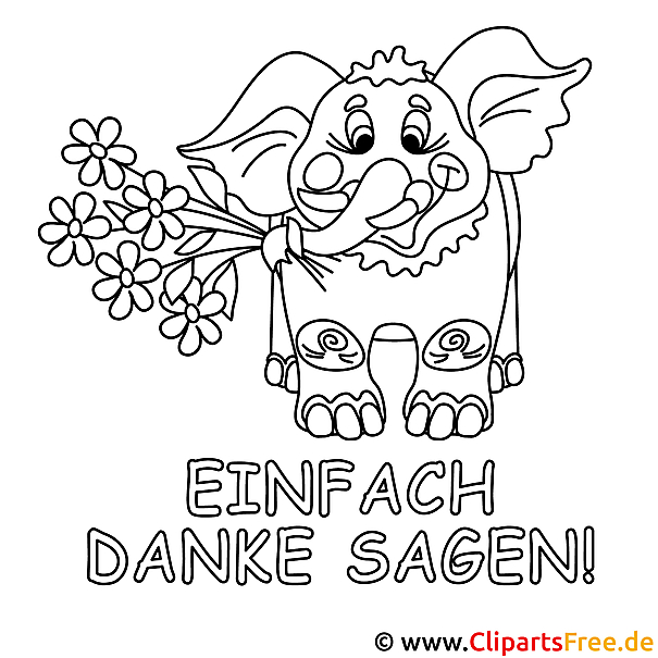 Elefant Malvorlage Gratis