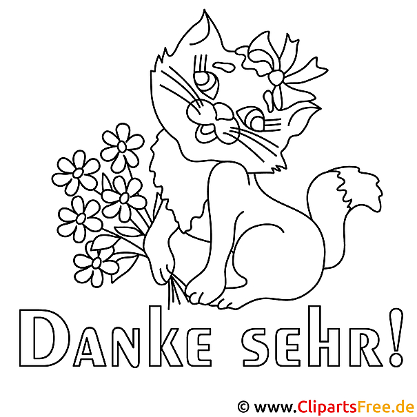 Malvorlagen-Gratis zum Download - Katze Malvorlage