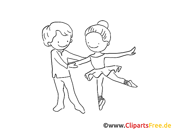 Ballet Malvorlagen kostenlos