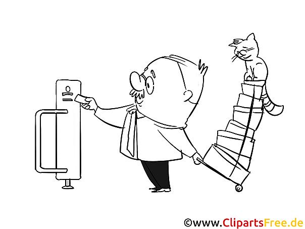 Cartoon Bilder, Malvorlagen, Grafiken zum Drucken und Ausmalen