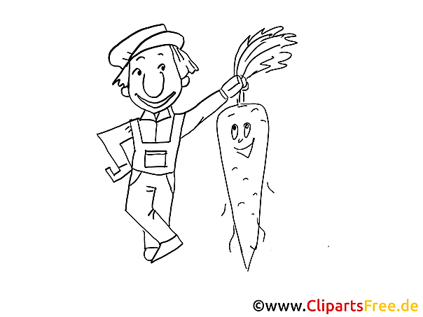 Farmer coloring sheets free