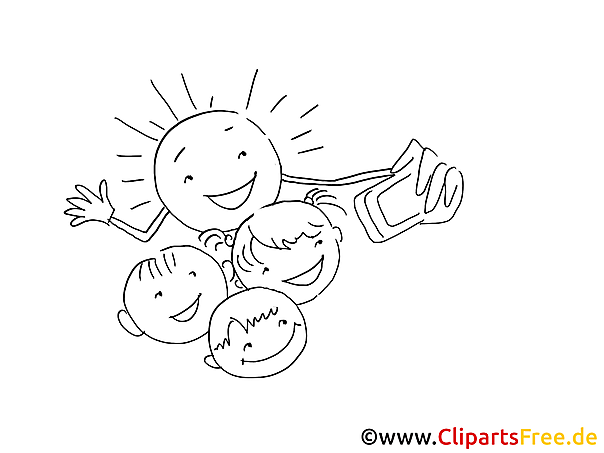 Smiles Colouring Pages