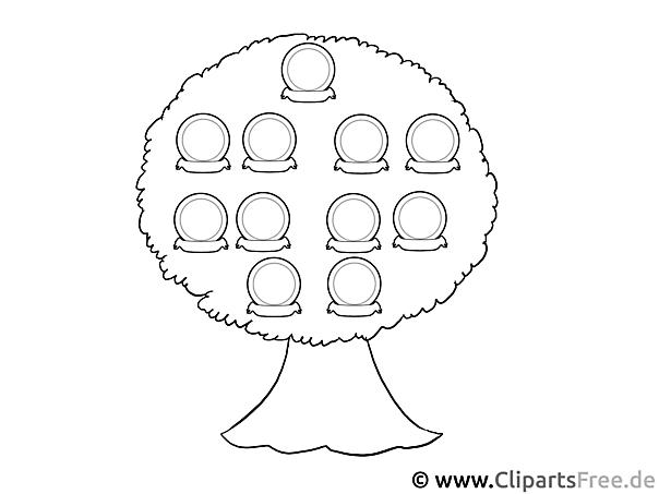 Bild stammbaum zum drucken und malen for Stammbaum zum ausdrucken