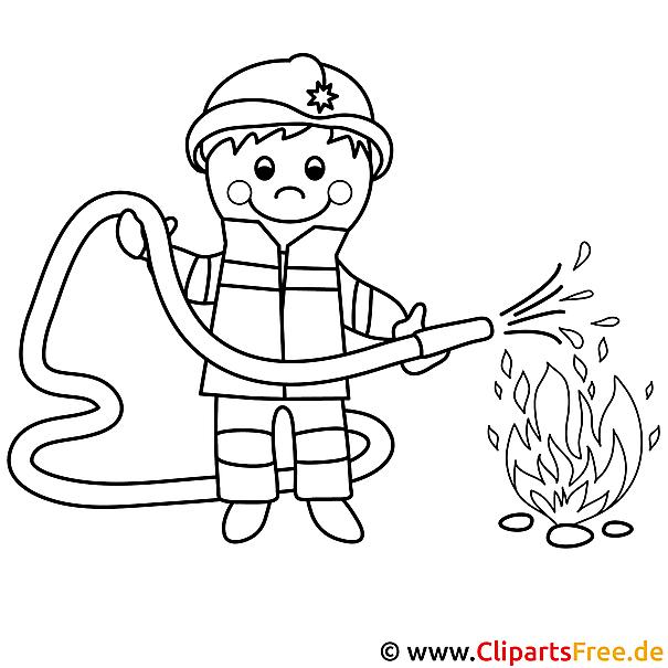 Ungewöhnlich Danke Feuerwehrmann Malvorlagen Galerie - Beispiel ...