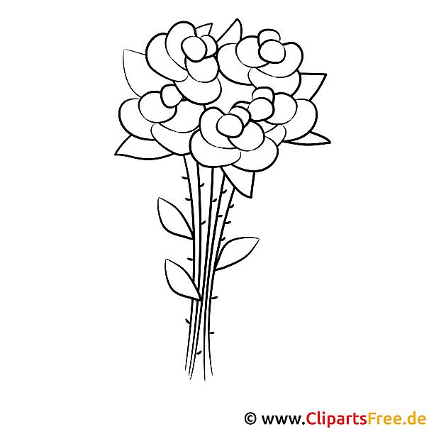 Rosen Malvorlage