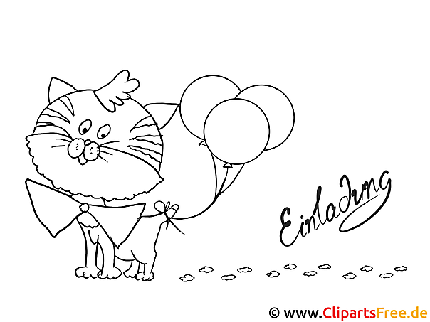 Cat Colouring Sheet