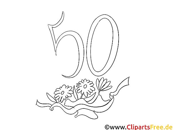 Ausmalbilder Zum 50 Geburtstag : Sch N Kostenlose Malvorlagen Zum Geburtstag Zeitgen Ssisch
