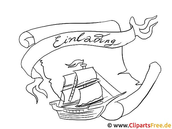 Großartig Piratenschiff Malvorlage Zeitgenössisch - Malvorlagen Von ...