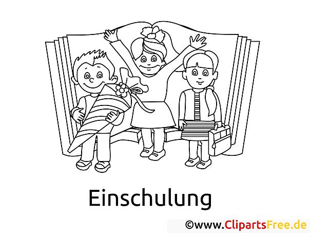 Kinderbilder zum Ausdrucken und Ausmalen