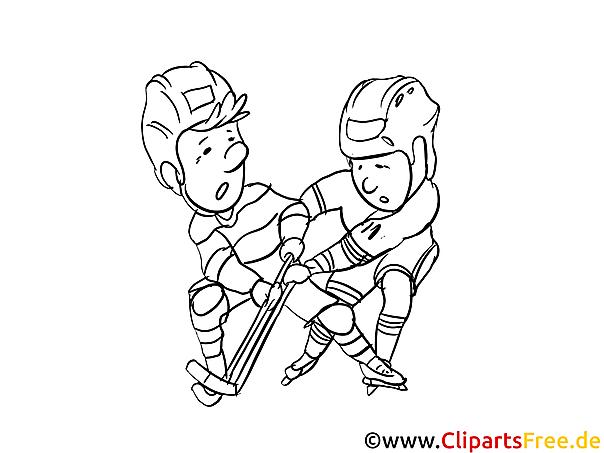 Eishockey Bilder zur Weltmeisterschaft zum Ausmalen und Ausdrucken
