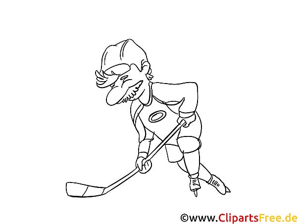 Eishockey Malvorlagen kostenlos zum Ausdrucken