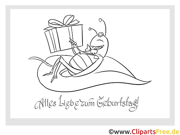 Ungewöhnlich Geburtstagskarten Malvorlagen Bilder - Malvorlagen Von ...