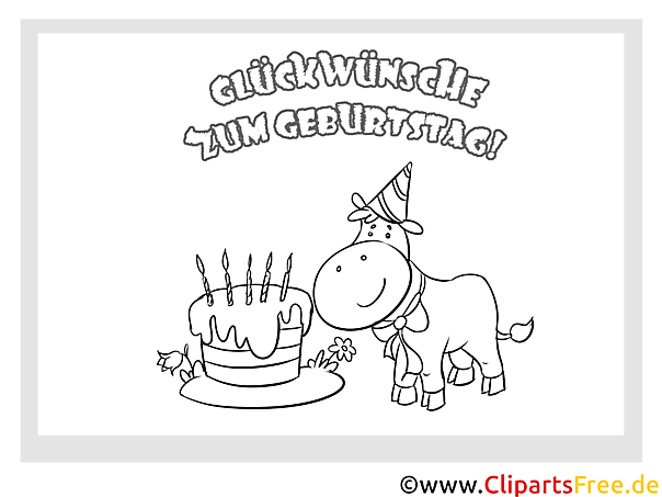 Kuh Kuchen Grusskarten Zum Kindergeburtstag Selbst Malen