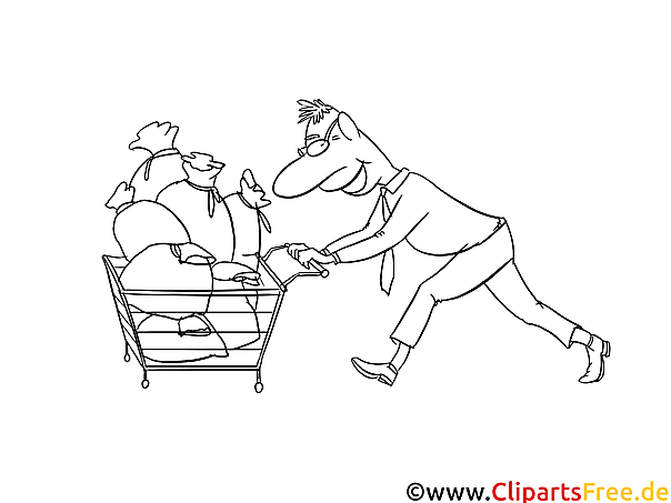 Ausmalbilde Dividende für Investor Bild