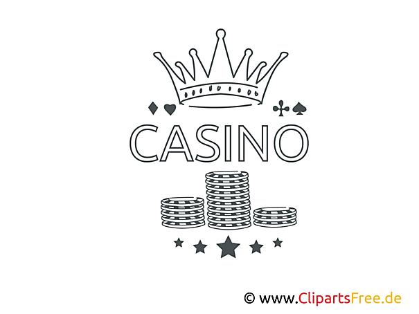 Kostenlose Malvorlagen für Erwachsene zum Ausdrucken Casino