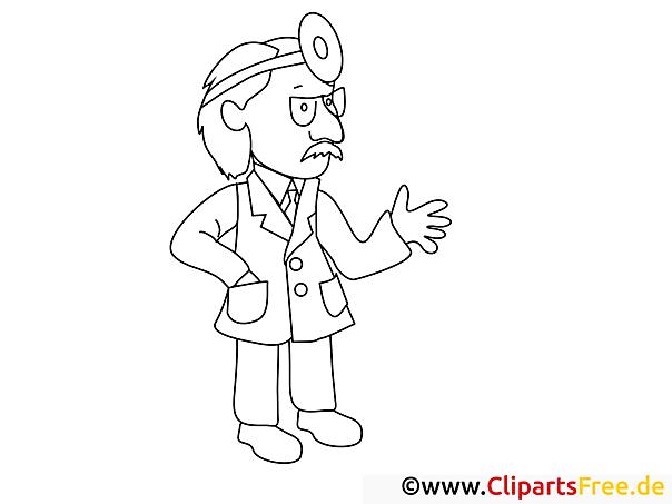 Arzt Ausmalbilder