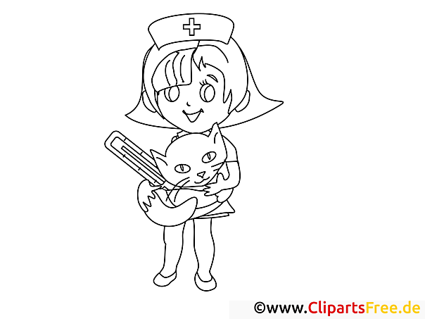 Coloring Pages For Veterinarian