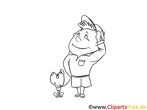 Boy Scout Coloring Page