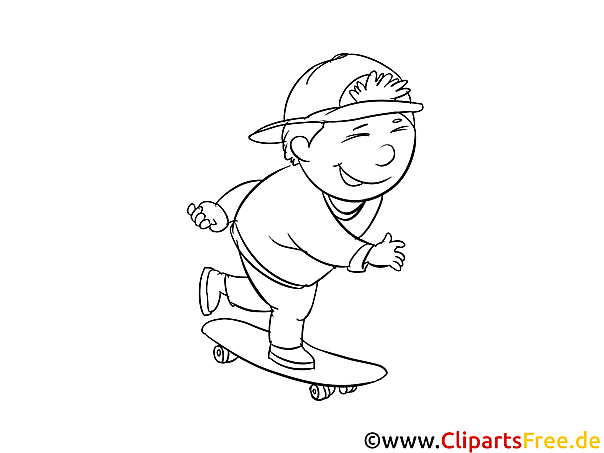 Kids Free Printable Coloring Page