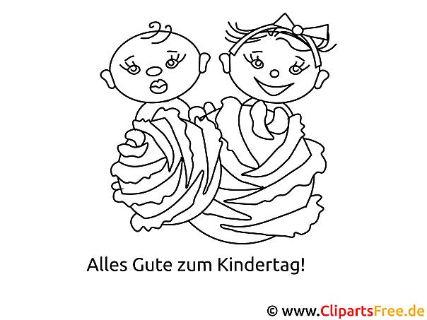 Schön Familien Malvorlagen Für Kleinkinder Bilder - Beispiel ...
