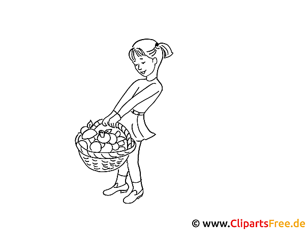 Girl Coloring Sheet