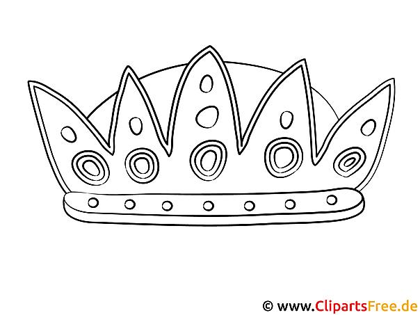 krone malvorlage