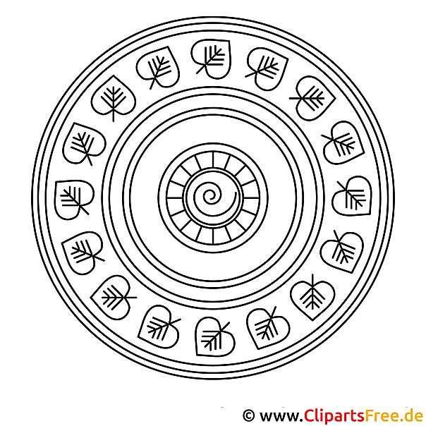 Mandala Bild