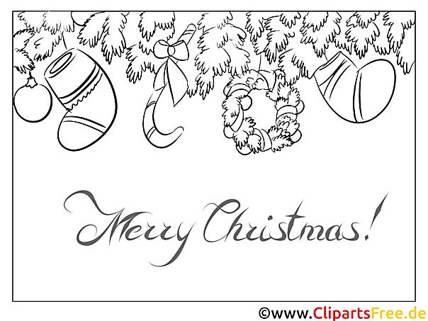 Kranz Fichte Zweig Die Schönsten Ausmalbilder Zu Weihnachten