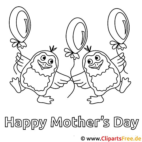 Karte Selber Basteln Muttertag : Titel der Malvorlage Karte zum Muttertag selbst basteln