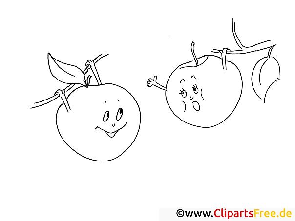 Berühmt Ausmalbilder Von äpfeln Zeitgenössisch - Entry Level Resume ...