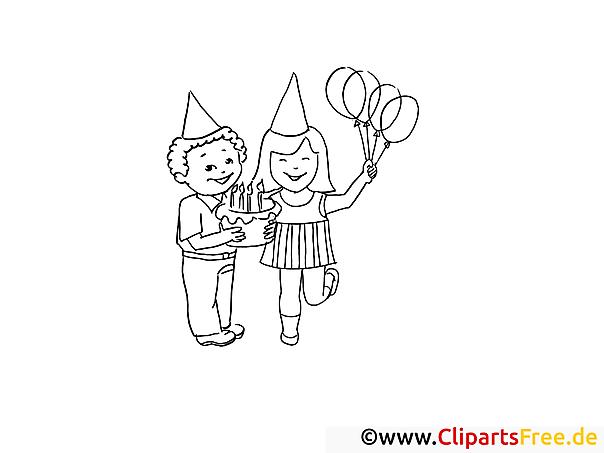 Ausmalbilder Zum 43 Geburtstag : Malvorlagen Geburtstagsparty Die Beste Idee Zum Ausmalen Von Seiten