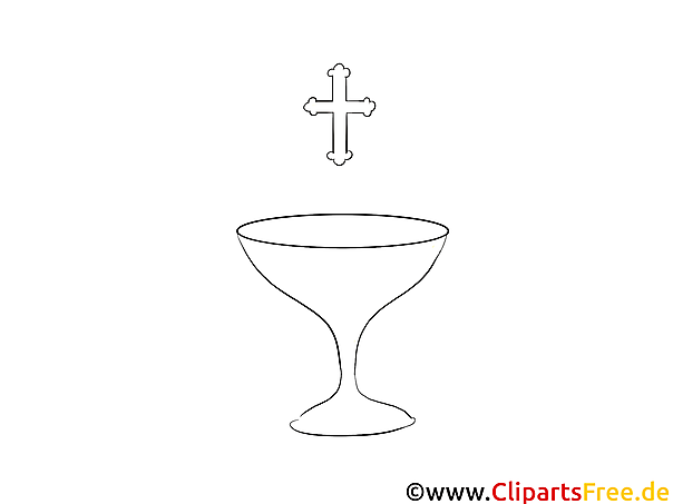 Kreuz Taufe kostenlose Ausmalbilder