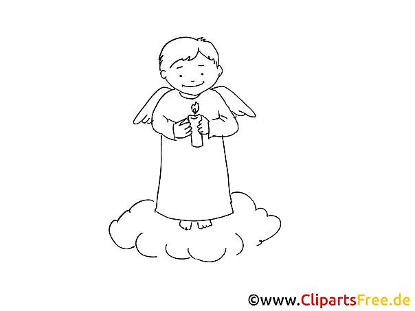 Taufe Ausmalbilder kostenlos zum Ausdrucken