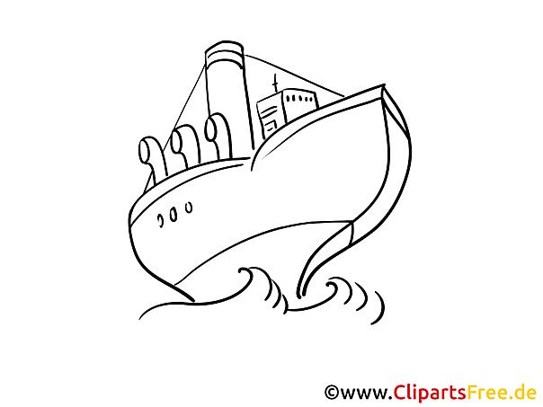 Fahrgastschiff Meer Malvorlagen Schiffe und Boote