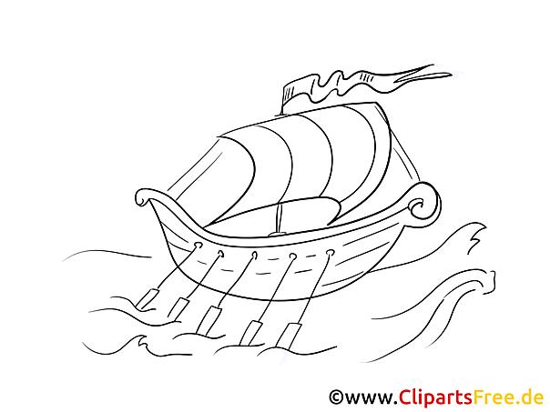 Ruderboot Malvorlagen Schiffe und Boote