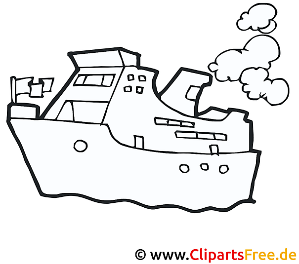 Schiff Malvorlage Fur Kinder Kostenlos