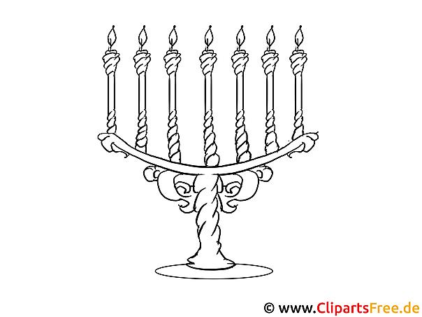 Kerzen Bild Zum Ausmalen